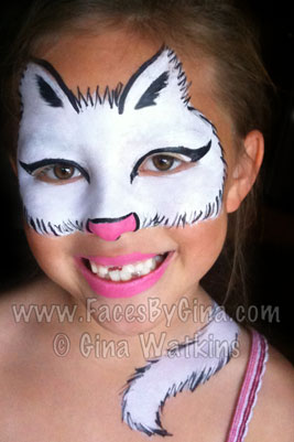 How to paint a cat face for adults